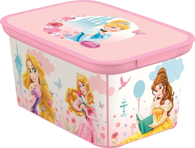 217789 CURVER Box DECO - S - PRINCESS