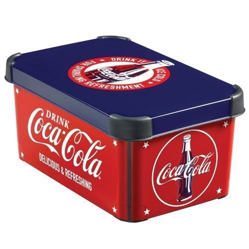 R 207802 CURVER DECOBOX - S - COCA COLA