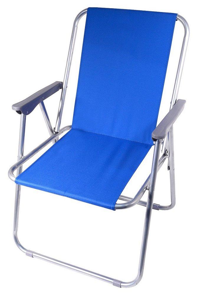7dbfa1a69e29 13455 Cattara Židle kempingová skládací BERN modrá