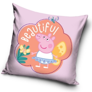 JERRY FABRICS POLŠTÁŘEK PRASÁTKO PEPPA BEAUTIFUL