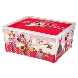 225172 CURVER TEXTILE box MINNIE - 18,5 L