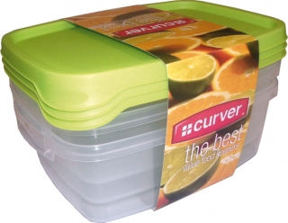 R 176069 CURVER TAKE AWAY FOODK 3x1,2L set dóz - MIX