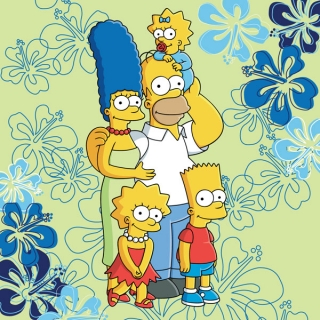 ST-088690 JERRY FABRICS Polštářek Simpsons family 2016 40/40